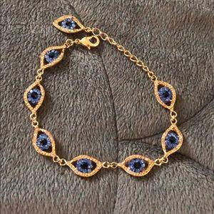6bf92db0838b52 Women Evil Eye Gold Bracelet on Poshmark